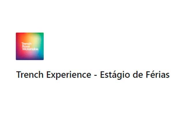 Estão abertas as inscrições para nova edição do Trench Experience