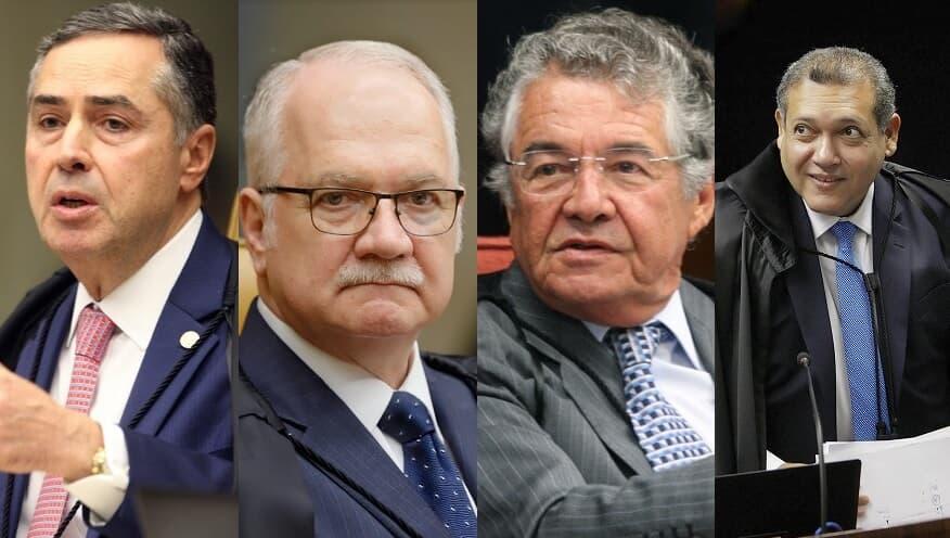 (Imagem: Nelson Jr/Rosinei Coutinho/Nelson Jr/Fellipe Sampaio/SCO/STF)