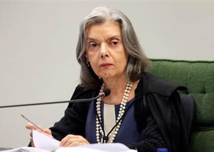 Ministra Cármen Lúcia está com covid-19