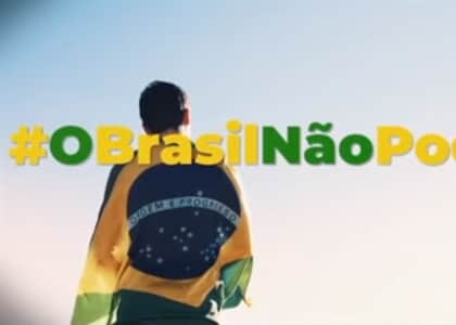 """MPF/RJ pede que Justiça suspenda campanha """"o Brasil não pode parar"""" de Bolsonaro"""