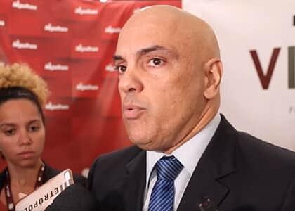 """Moraes diz que inquérito de fake news contra o STF mira """"ameaças graves"""" na deep web"""