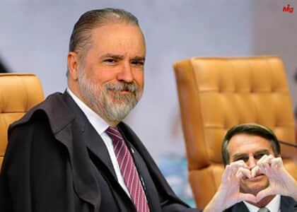 """Bolsonaro diz que pode indicar Aras para o STF """"se aparecer uma terceira vaga"""""""