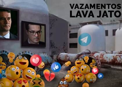 """Em novo vazamento, Moro sugere que Lava Jato envie nota à imprensa contra """"showzinho"""" de Lula"""