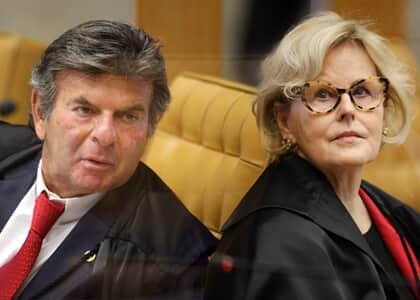 Luiz Fux toma posse como presidente do STF; Rosa Weber é sua vice