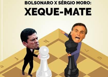 Esmigalhando o xeque-mate entre Bolsonaro e Moro