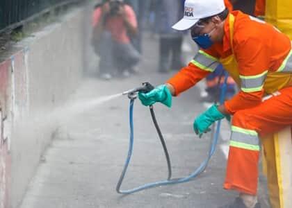 TJ/SP absolve Doria por remoção de grafites na avenida 23 de Maio