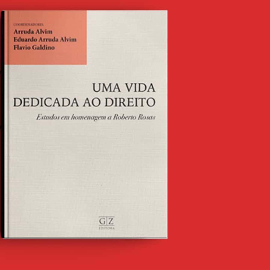 """Resultado do sorteio da obra """"Uma Vida Dedicada ao Direito - Estudos em Homenagem a Roberto Rosas"""""""