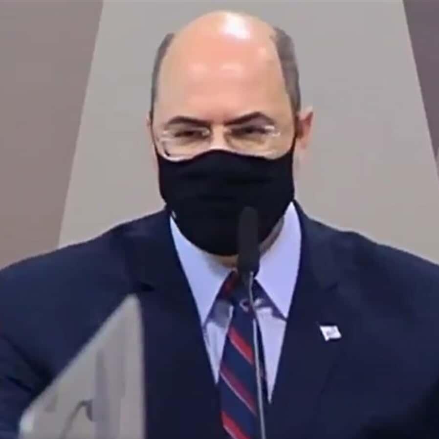 CPI da Covid aprova depoimento secreto de Wilson Witzel