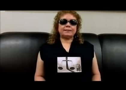 Advogada cega e seu legítimo direito constitucional de exercer a sua profissão